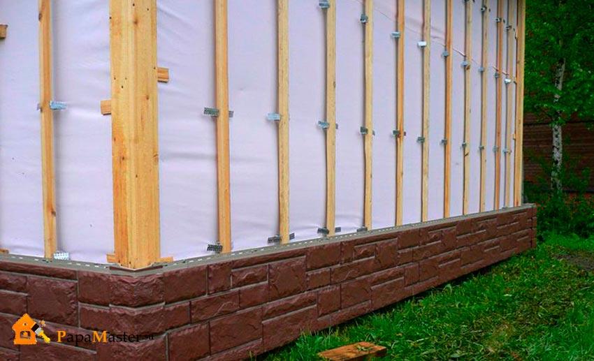 Блок хаус: как монтировать